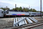 NJT 4528 on shop move from Morrisville